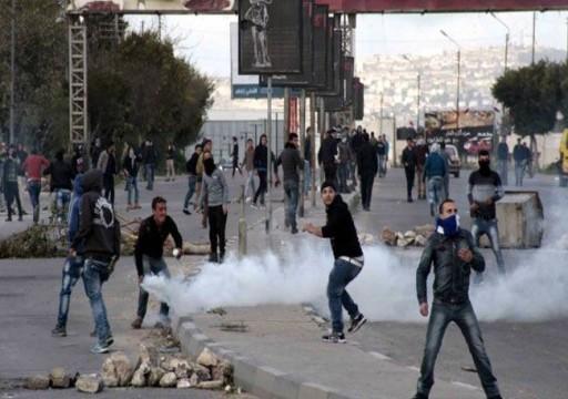 إصابة عشرات الفلسطينيين برصاص وغاز الاحتلال جنوبي الضفة