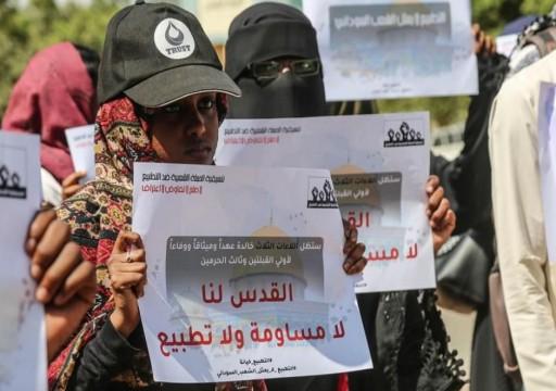 ضغوط أمريكية على السودان لإقامة علاقات دبلوماسية مع الاحتلال الإسرائيلي